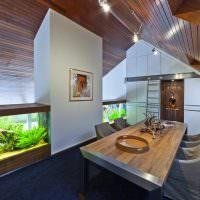 Дизайн мансарды частного дома