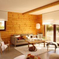 Керамический пол в деревянном доме