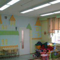 Оформление стены в детском саду своими руками