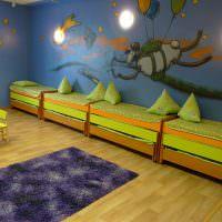 Двухъярусные кровати для деток дошкольного возраста