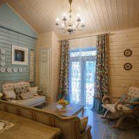 Дизайн гостиной с одним окном