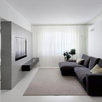 Дизайн комнаты в стиле минмализма