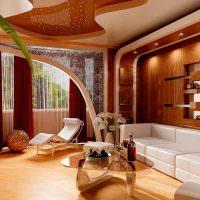 Гипсокартонные конструкции в дизайне гостиной