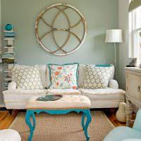 Уютная комната в стиле прованс