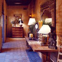 Красивая прихожая частного дома