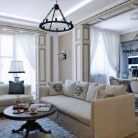 Дизайн гостиной в современном итальянском стиле