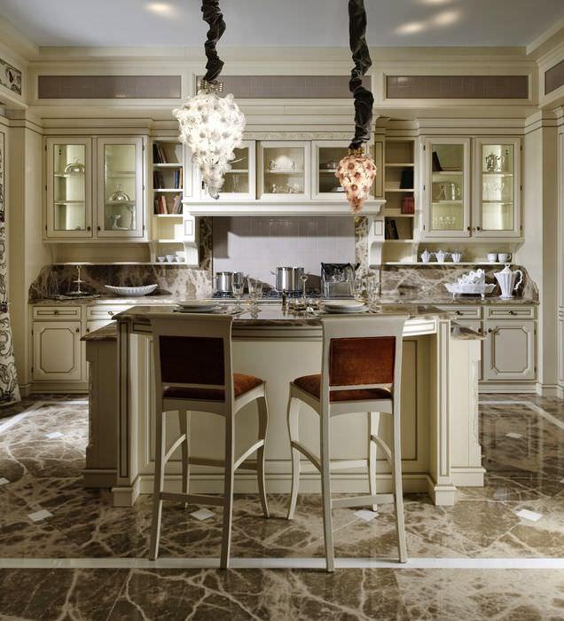 дизайн кухни в итальянском стиле фото можно