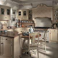 Кухонный гарнитур от итальянских мастеров