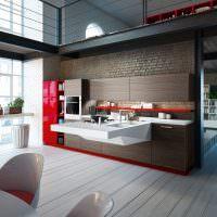 Дизайн современной кухни в необычном стиле