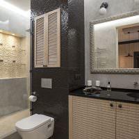 Дизайн ванной комнаты в однушке
