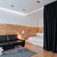 Отделка стен ламинированными панелями