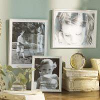 Старые снимки любимой дочки