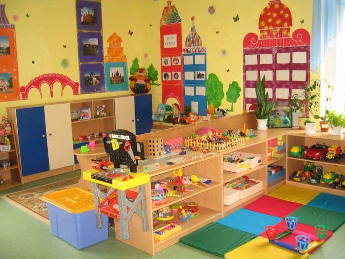 Оформление игровой зоны в детской группе ясельного возраста