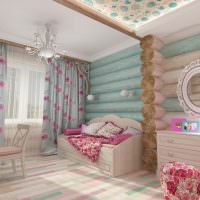 Дизайн красивой детской для маленькой девочки