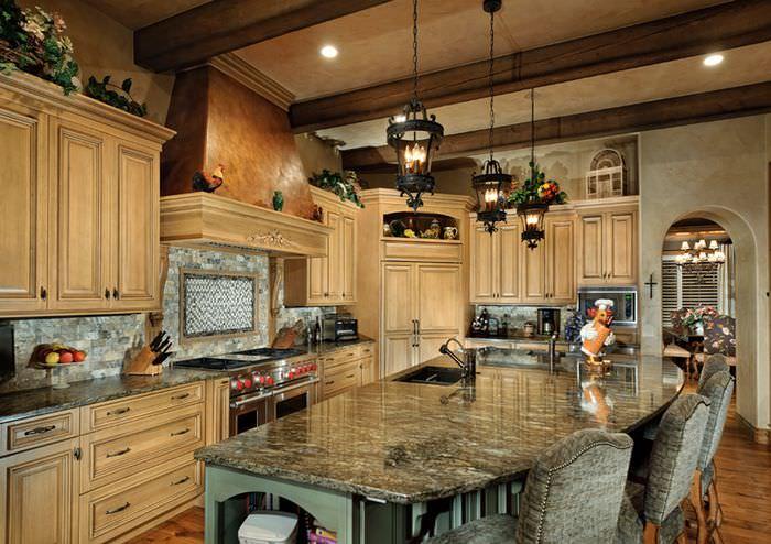 Шикарная кухонная мебель от итальянских производителей