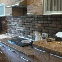Кухонный фартук из искусственного камня
