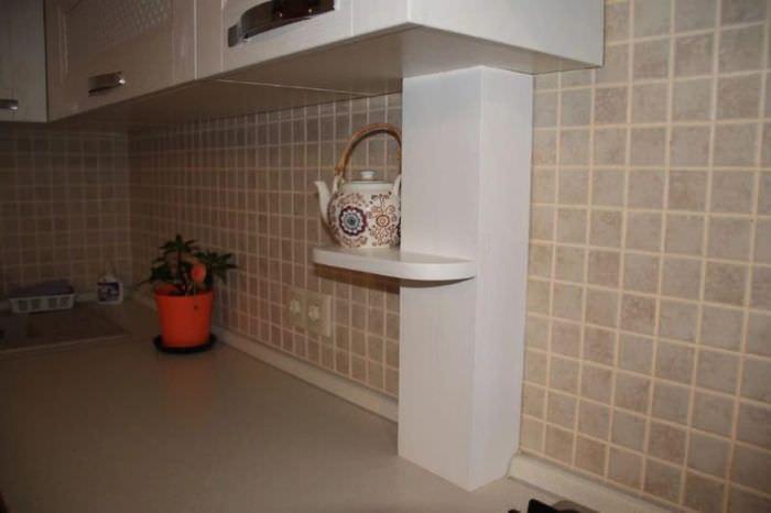 Кухня 5,7 квадратов – вместить всё! — Дом и Сад | 533x800
