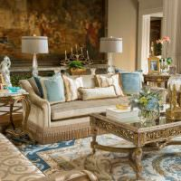 Классическая мебель из натуральных материалов