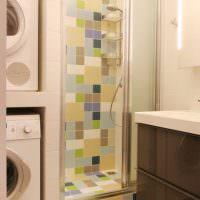 Дизайн ванной в трехкомнатной квартире