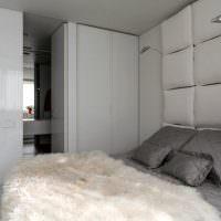 Дизайн спальни с встроенной мебелью