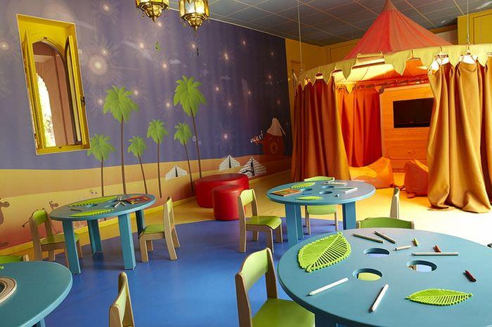 Круглые столы для занятий детей среднего дошкольного возраста