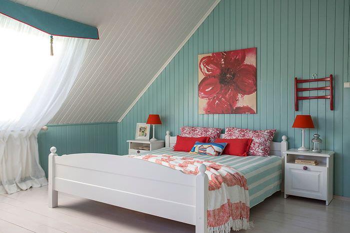 Оформления интерьера спальни для девушки в частном доме