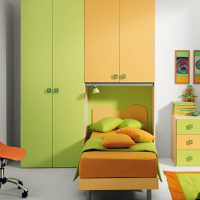 Интерьер светлой детской комнаты в современном стиле