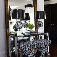 Оригинальные светильники с черными плафонами
