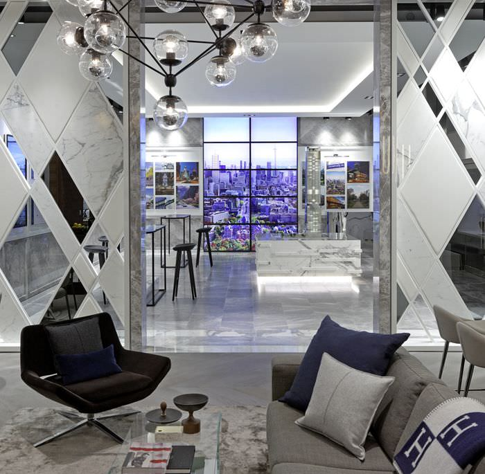 Современный интерьер в стиле модерн