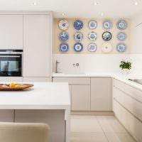 Декор кухни в стиле минимализма