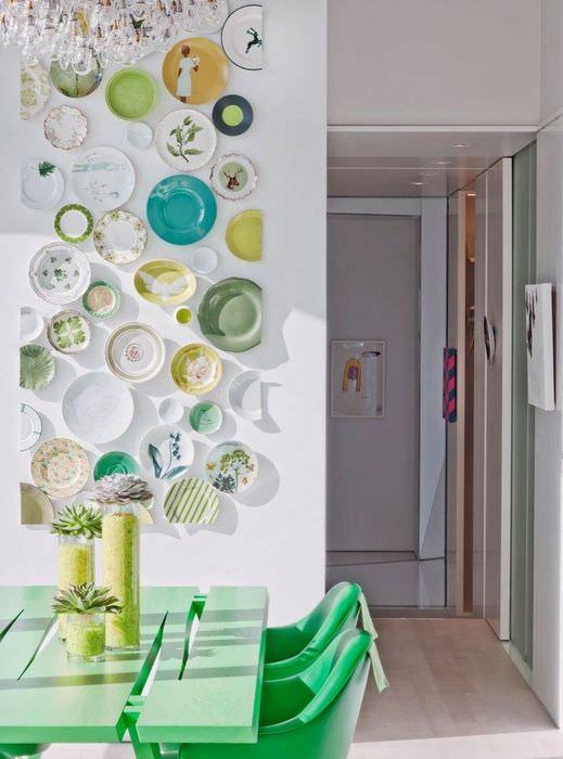 дизайн стены кухни своими руками фото идеи блюдо азу свинины
