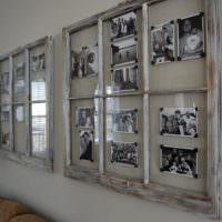 Домашняя фотовыставка в стиле ретро