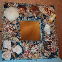 Морские ракушки в декорировании интерьера