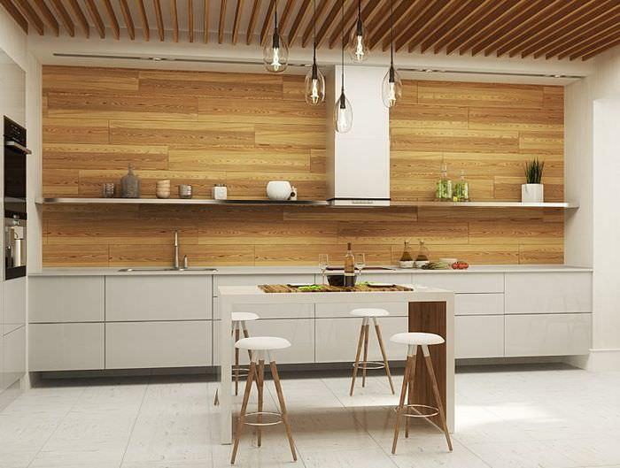 Красивая кухня в стиле минимализма