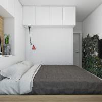 Небольшая спальня в панельном доме