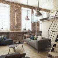Декор интерьера в стиле лофт