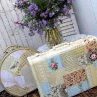 Винтажный чемоданчик своими руками