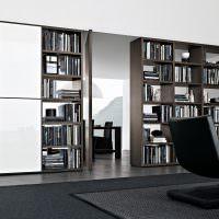 Книжные шкафы в современном стиле