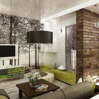 Дизайн квартиры в экологическом стиле