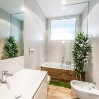 Эко стиль в оформлении ванной комнаты
