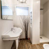 Дизайн ванной в экологическом стиле