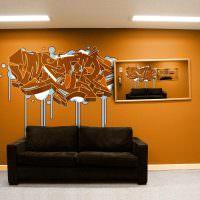 Огнетушитель в роли декорации интерьера