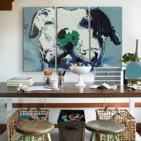 Модный интерьер домашнего кабинета