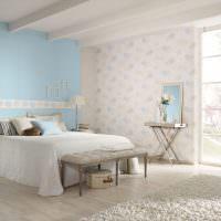 Дизайн уютной спальни в пастельных оттенках