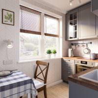 Интерьер современной кухни в стиле прованс