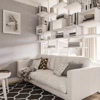 Декоративные подушки на белом диване