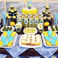 Праздничная сервировка стола для детского дня рождения