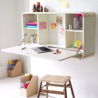 Рабочее место в комнате ребенка