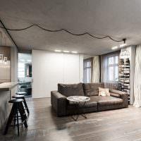 Минмималистическая атмосфера в интерьере квартиры