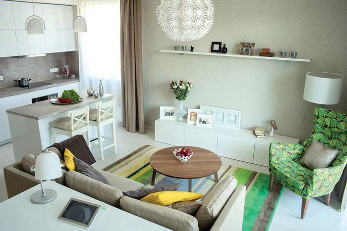 самых интерьер в маленьких квартирах в картинках такой
